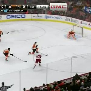 Ray Emery Save on Joakim Andersson (04:36/1st)