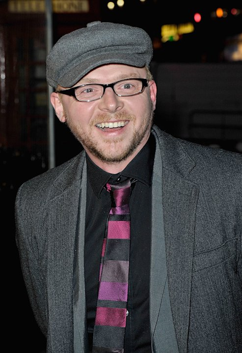 The Boat the Rocked UK Premiere 2009 Simon Pegg