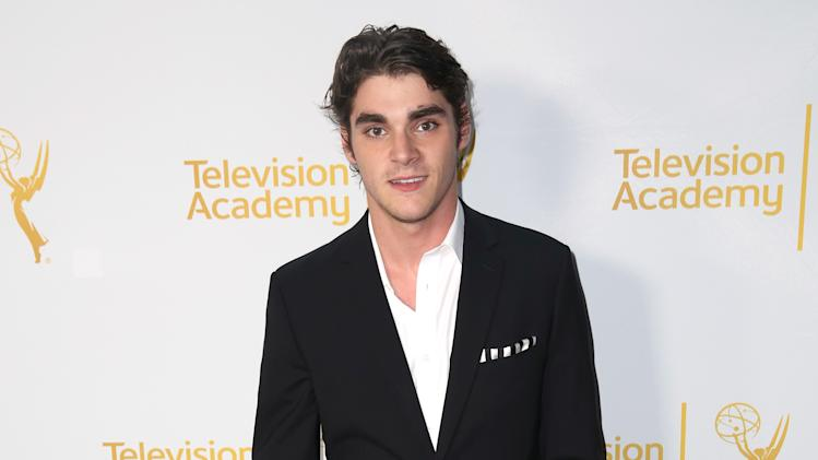RJ Mitte arrives at the Television Academy's 66th Emmy Awards Performers Peer Group Celebration at the Montage Beverly Hills on Monday, July 28, 2014, in Beverly Hills, Calif. (Photo by Matt Sayles/Invision for the Television Academy/AP Images)