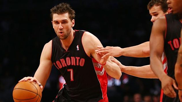 2012 NBA Raptors&#39; Bargnani (AFP)