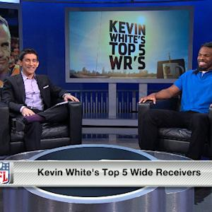 Kevin White's top 5 NFL wide receivers