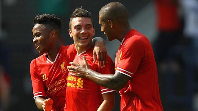 Liverpool's Iago Aspas celebrates his goal (PA Sport)