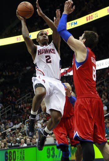 Vucevic leads 76ers past Hawks, 98-87