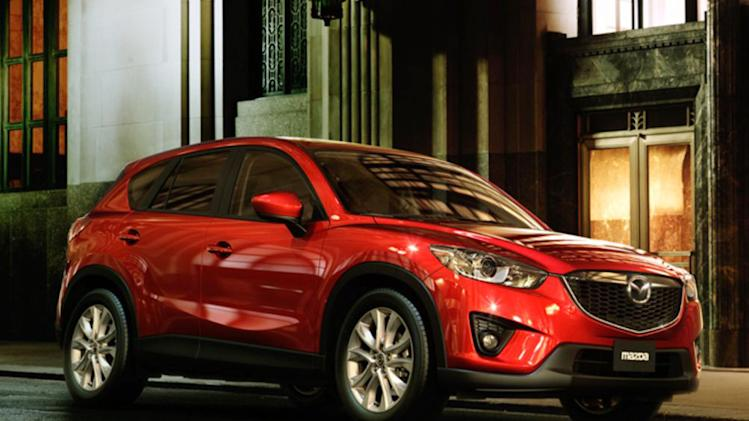 Mazda's new CX-5 SUV lands at top