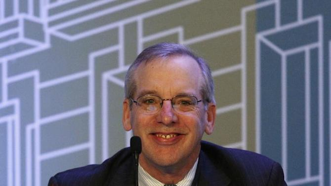 President of the Federal Reserve Bank of New York Dudley attends a forum organized by Mexico's Central Bank in Mexico City