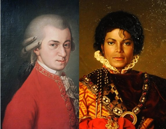 Wolfgang Amadeus Mozart : Mozart plus fort que Michael Jackson ?