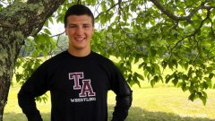 Tabor Academy wrestler and football captain Torin Zonfrelli