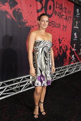 Zoe Bell at the Los Angeles premiere of Columbia Pictures' 30 Days of Night
