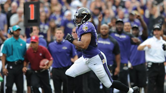 Smith making name for himself on Ravens defense