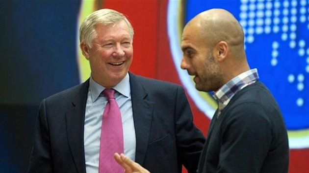 Guardiola and Ferguson
