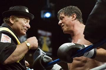 Burt Young and Sylvester Stallone in MGM's Rocky Balboa