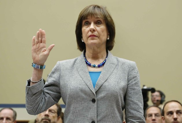 U.S. Director of Exempt Organizations for the IRS Lerner is sworn in to testify before a House Oversight and Government Reform Committee hearing in Washington