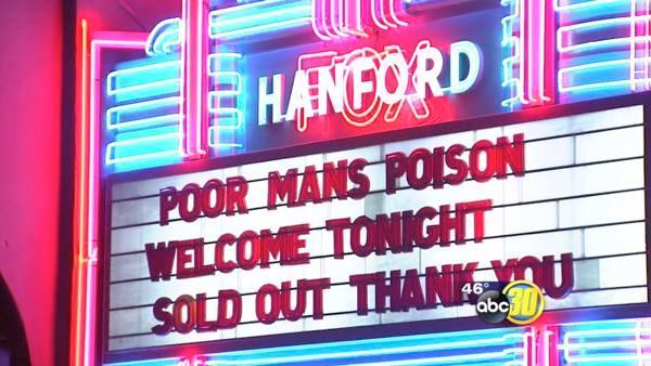 Poor Mans Poison sells out Hanford venue