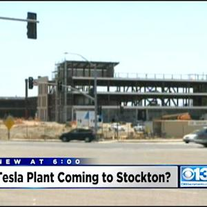 Stockton Considered Contender For $5 Billion Tesla Motors Factory