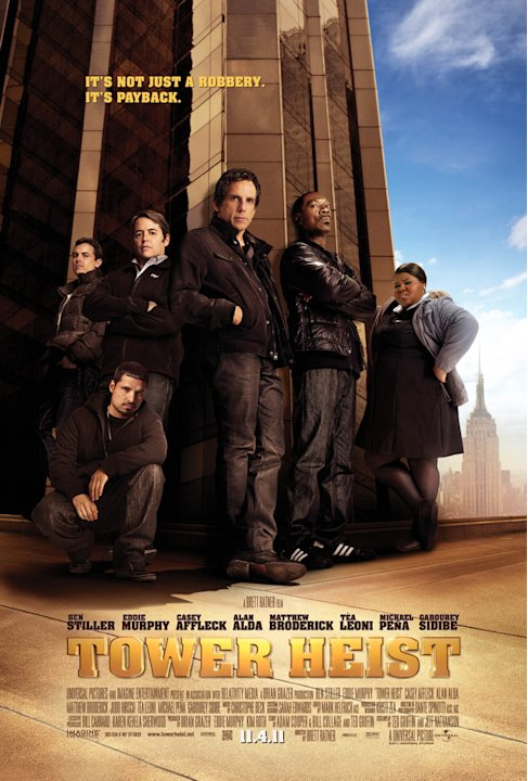 Tower Heist 2011 Universal Pictures Poster