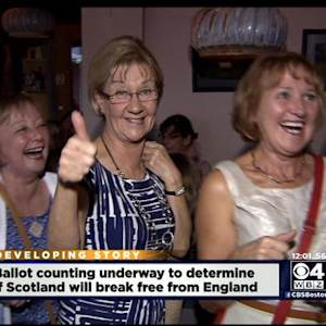 Boston Bar Follows Scotland's Vote For Independence