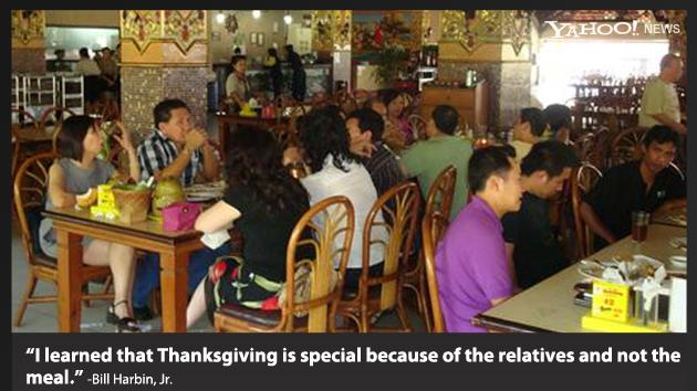The story behind the Thanksgiving photo