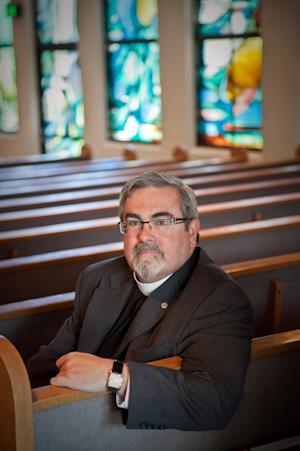 This undated image provided by ReconcilingWorks shows Dr. Guy Erwin, a premier scholar on Martin Luther, who was elected as Lutheran Bishop Saturday June 1, 2013 in Los Angeles. Erwin is Bishop of the Southwest California Synod of the Evangelical Church in America (ELCA). (AP Photo/ReconcilingWorks)