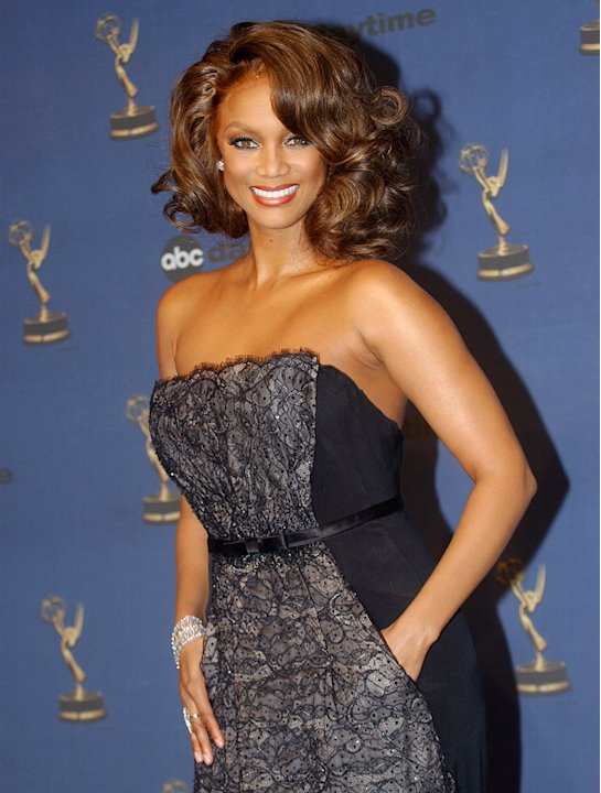 Tyra Banks at the 33rd Annual Daytime Emmy Awards.