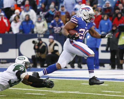Bills close losing season with a win over Jets