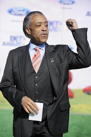 "FILE - In this June 26, 2011 file photo, the Rev. Al Sharpton arrives at the BET Awards in Los Angeles. MSNBC has named the Rev. Al Sharpton as host of a weeknight program on the network. His new program, to be called ""PoliticsNation,"" will premiere next Monday. (AP Photo/Chris Pizzello, file)"