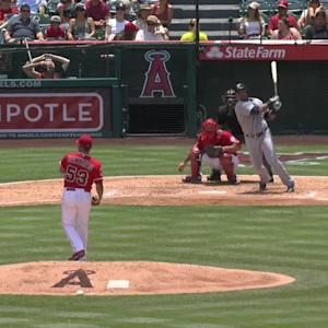 Cruz's RBI double