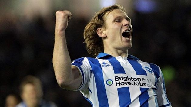 Brighton's Craig Mackail-Smith is battling back to fitness