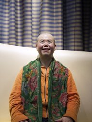Chinese director Cui Zi&#39;en pictured in Paris on February 9, 2013. Cui&#39;s 40-odd films have covered everything: from the only children produced by China&#39;s one-child policy imposed in the late 1970s, to the problems faced by millions of rural migrants who have flocked to the cities in search of work