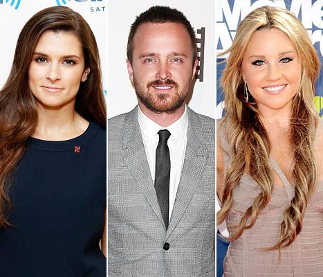 Aaron Paul Marries Lauren Parsekian, Danica Patrick Crashes During Coca-Cola 600: Top 5 Stories