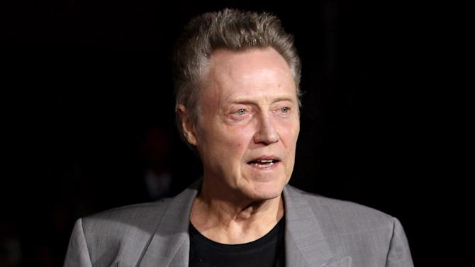 """FILE - This Oct. 1, 2012 file photo shows actor Christopher Walken at the premiere of """"Seven Psychopaths"""" in Los Angeles. NBC says Christopher Walken will play Captain Hook in the network's live version of """"Peter Pan."""" NBC Entertainment Chairman Robert Greenblatt told a TV critics' meeting Sunday, July 13, 2014, that the Oscar-winning actor will bring his own spin to the role. (Photo by Matt Sayles/Invision/AP, File)"""