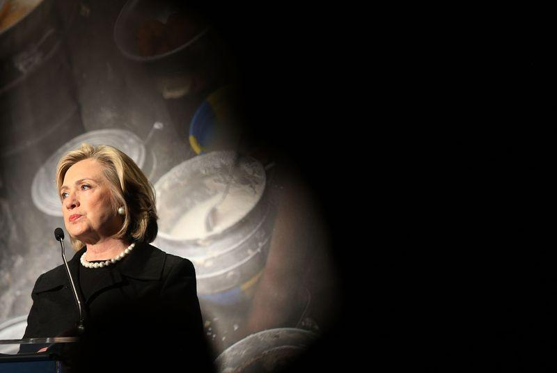 Hillary Clinton ran her own email servers as Secretary of State