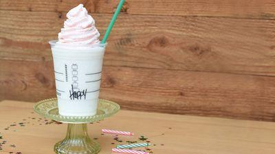 Starbucks' Birthday Cake Frappuccino Is Only Available for Five Days