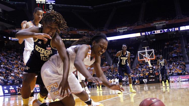 No. 4 Lady Vols outlast Georgia Tech 87-76