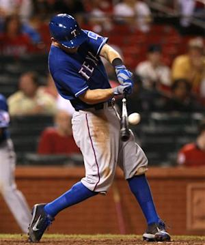 Rangers beat Cardinals 2-1, sweep 3-game series
