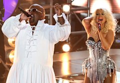 CeeLo Green, Christina Aguilera | Photo Credits: Tyler Golden/NBC