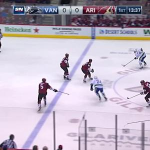 Virtanen hammers home one-timer