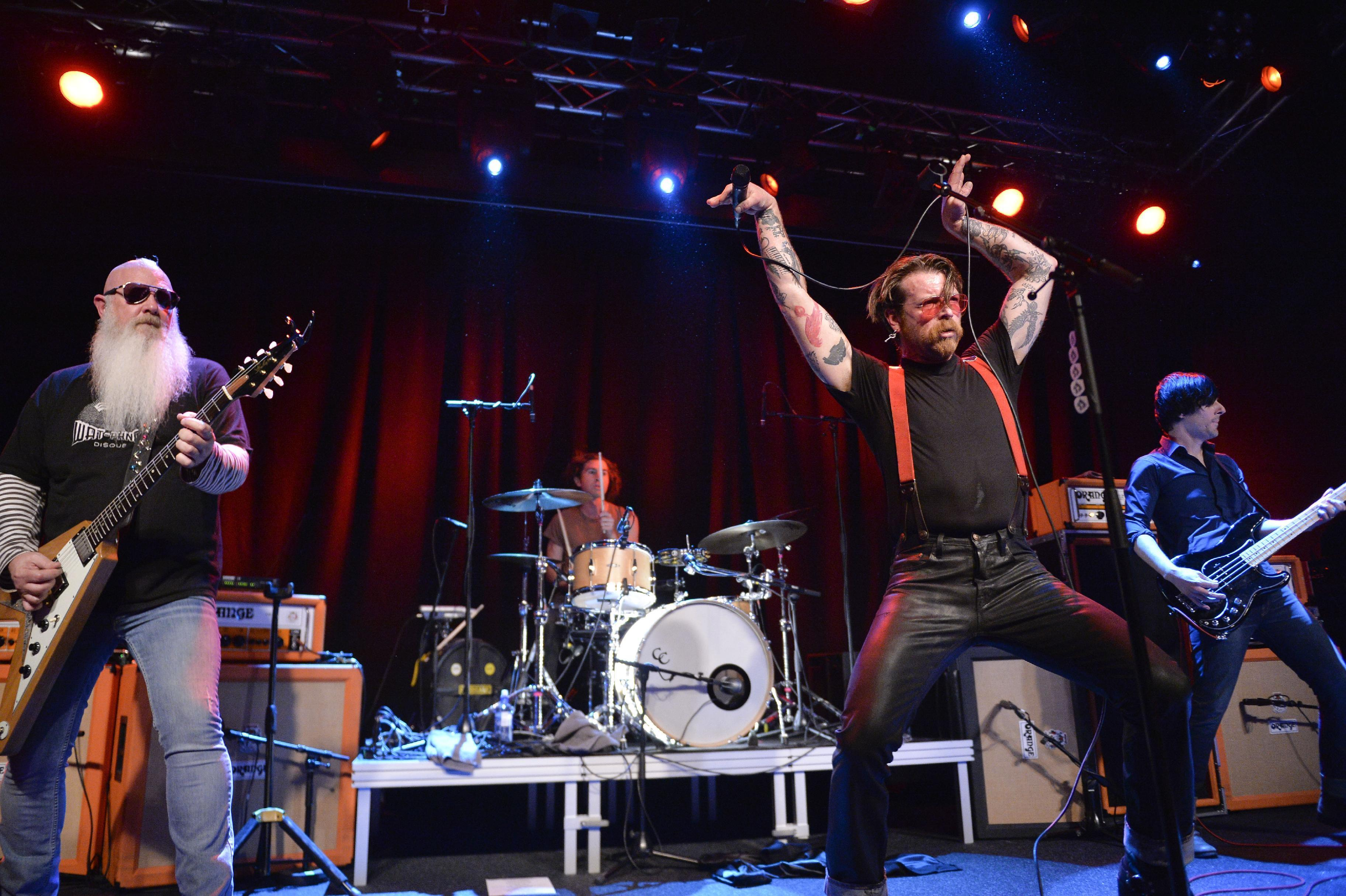 Eagles of Death Metal frontman feels 'sacred duty' to finish Paris gig