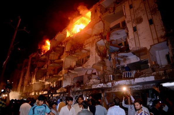PAKISTAN-UNREST-KARACHI