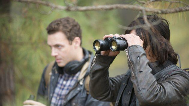 Ross Marquand as Aaron and Norman Reedus as Daryl in 'The Walking Dead' Season 5, Episode 16 -- AMC