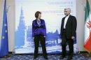 European Union Foreign Policy Chief Catherine Ashton meets with Iran's Chief Negotiator Saeed Jalili in Moscow