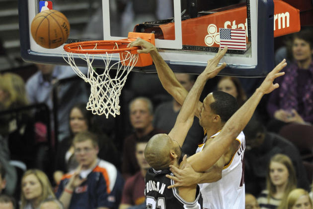 NBA: San Antonio Spurs at Cleveland Cavaliers