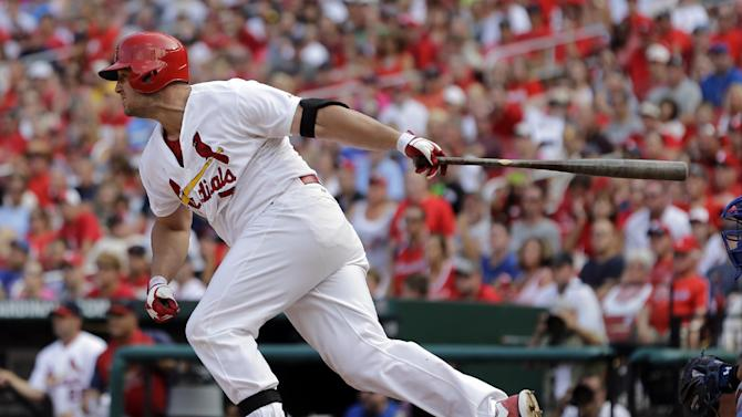 Cardinals overcome 5-run deficit to beat Cubs 9-6