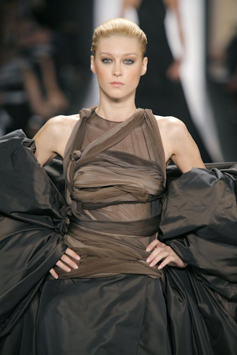 Olympus Fashion Week Spring 2007 - Chado Ralph Rucci Couture - Runway