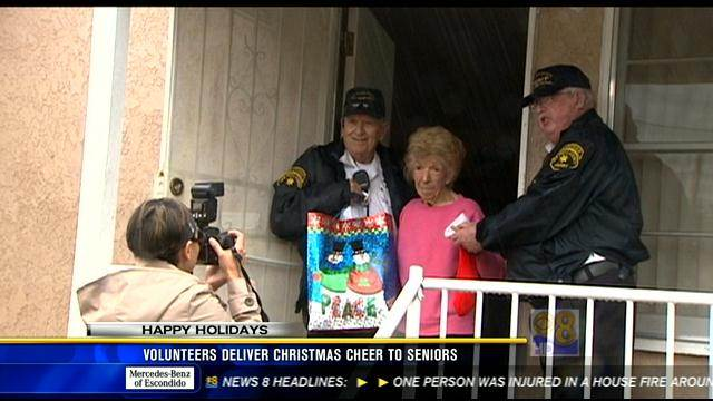 Volunteers deliver Christmas cheer to seniors