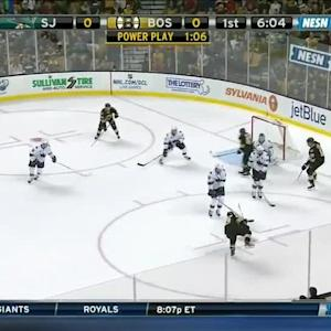 San Jose Sharks at Boston Bruins - 10/21/2014