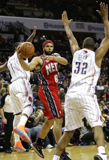 Williams scores 57 as Nets dump Bobcats 104-101