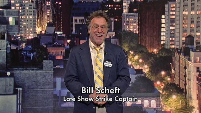 David Letterman - Late Show Strike Captain, Bill Scheft