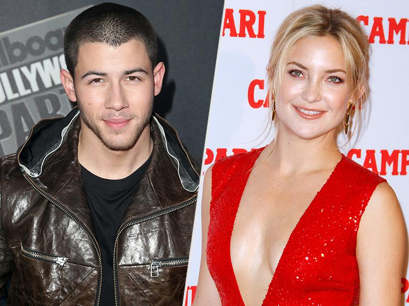 Nick Jonas Reunites with Kate Hudson Amid Reports He's Dating Lily Collins: 'There's Definitely an Attraction There'