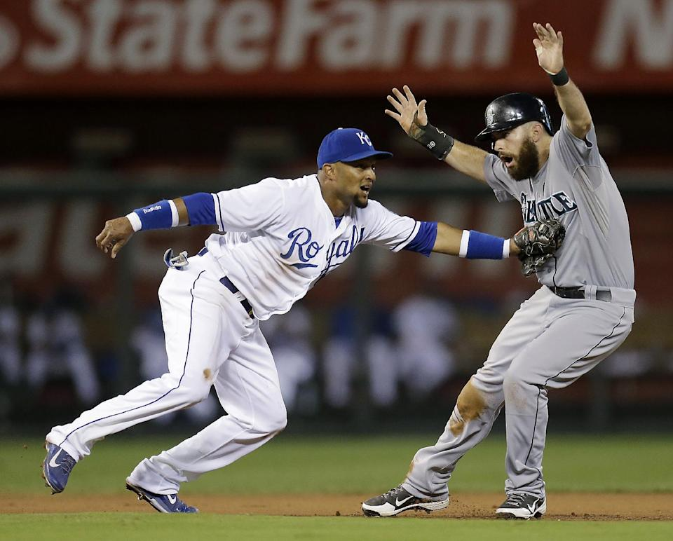 Mariners beat Royals 6-4