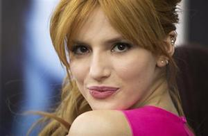 """Actress Bella Thorne arrives for the premiere of the movie """"Winter's Tale"""" in New York"""